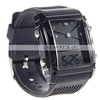 Watch with Double Display (LCD Analog and Digital) - Small Size
