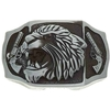Removable Belt Buckle oil Lighter Holder Feline Lion / Tiger
