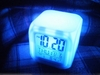 Alarm clock / calendar / thermometer - Digital - Led Cube - 6 Colors
