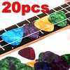 20 picks plectrum for guitar or bass 0,46 to 0,60 mm
