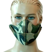 Masque De Protection ( 2 Couches Nylon + Mousse 4 Mm)