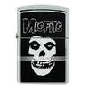 Stylish Zippo Copper Wind-Proof Cotton Oil Lighter - skull