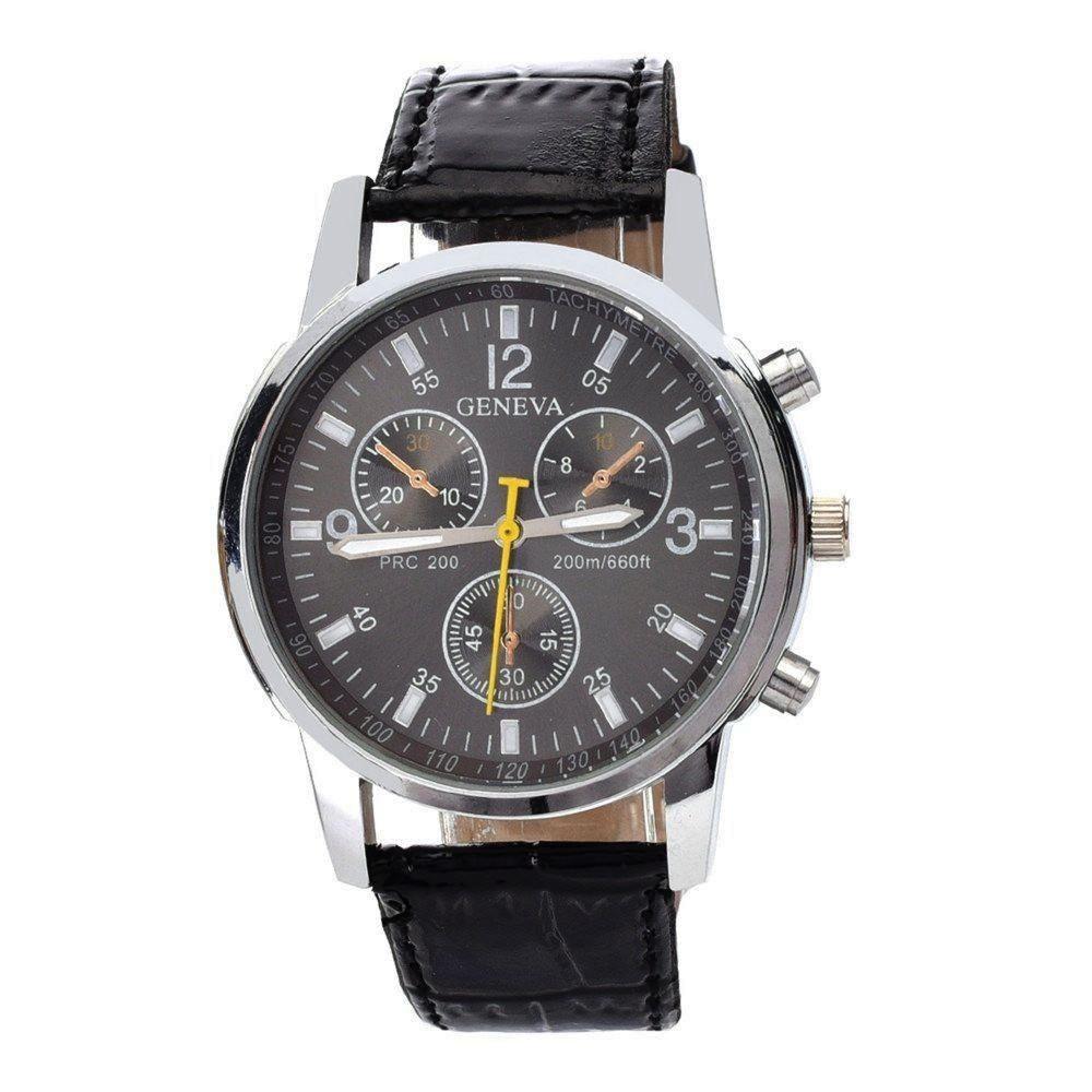 acheter montre classique sport homme faux chrono 40 mm. Black Bedroom Furniture Sets. Home Design Ideas