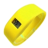Fashion Anion silicone watch ionizer yellow