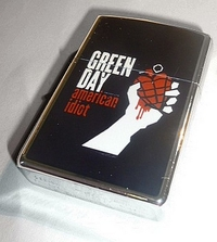 oil lighter (Style Zippo) - Green Day, American Idiot
