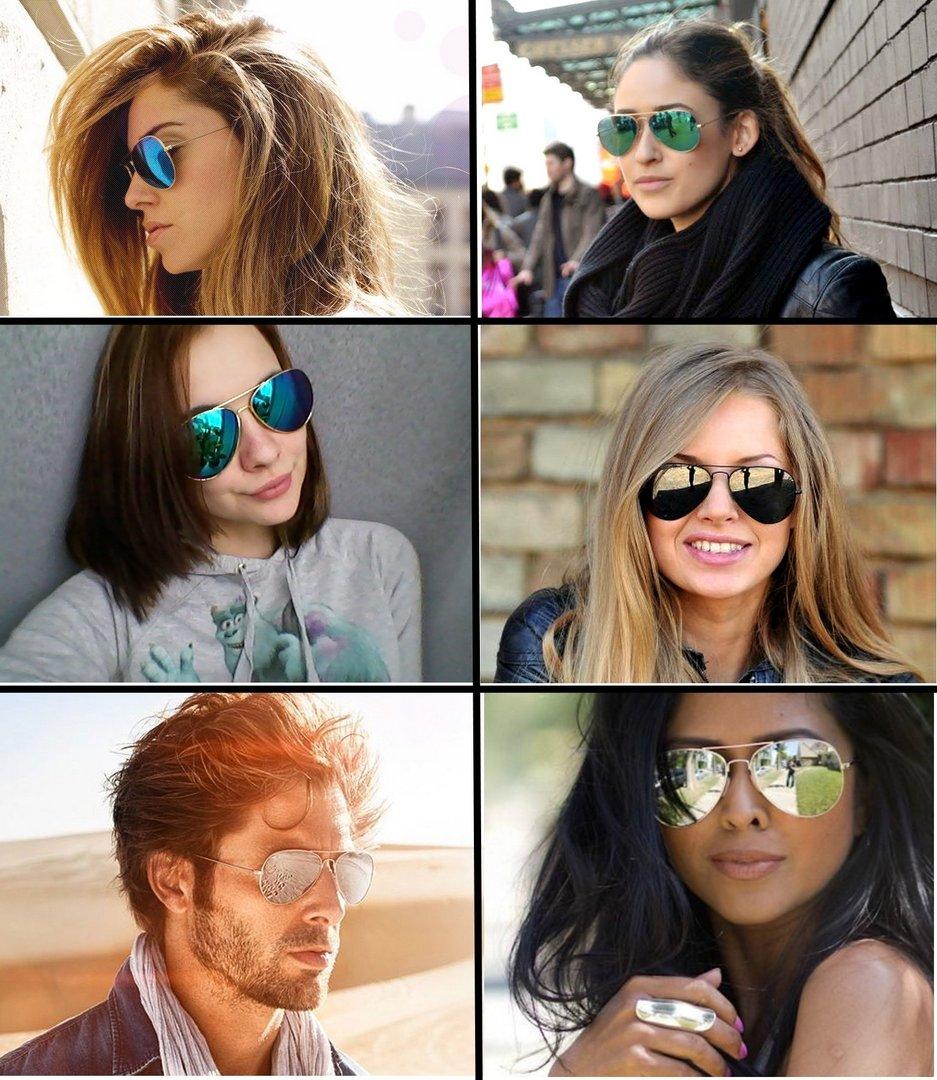 lunette de soleil femme style ray ban
