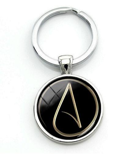Buy cheap key ring with pendant atheist symbol atheism keyring with pendant atheist symbol atheism aloadofball Choice Image