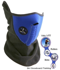 Mask Half Face Protection And Fleece Neck cover + Ears