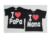 "T-Shirt - child mixte - ""I Love Papa "" -"