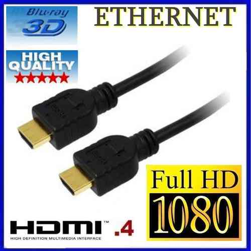 Câble HDMI + Ethernet High Speed 3D HD TV