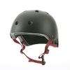 Helmet - Black Abs - Ideal: Skate / Roller / Street / BMX / Paintball / Airsoft ...