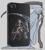 back cover for Iphone 4 - Reaper / skeleton - Death Skull