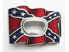 Buckle belt Confederate State Flag Bottle Opener