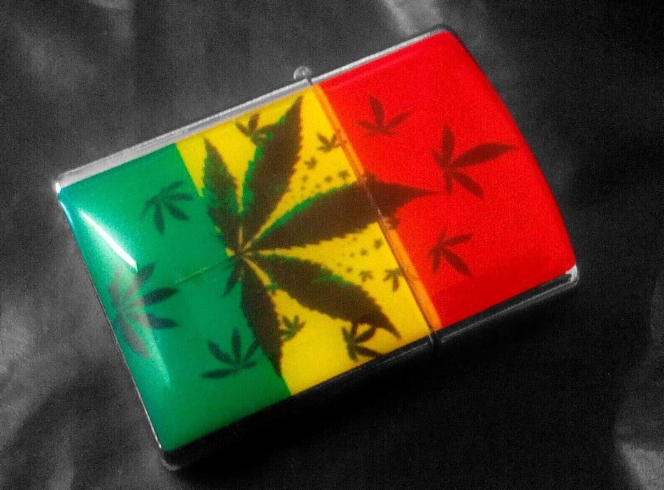 Cheap Cool Gasoline Storm Lighter Zippo Style Ganja Weed