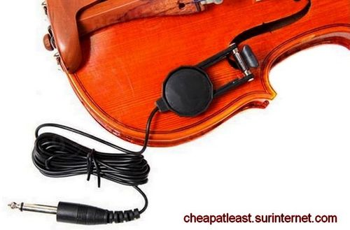 F Hole Mic Pickup For Violin Cello and Viola