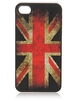 Back case for Iphone 4 - Dirty Flag - UK / Union Jack