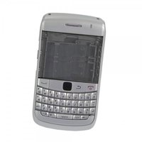Full replacement body kit Silver for Blackberry Bold 9700