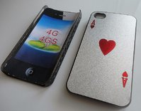 coque de protection AR pour iphone 4 - As de coeur