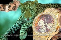 Fashion watch Strass - Leopard / Panther