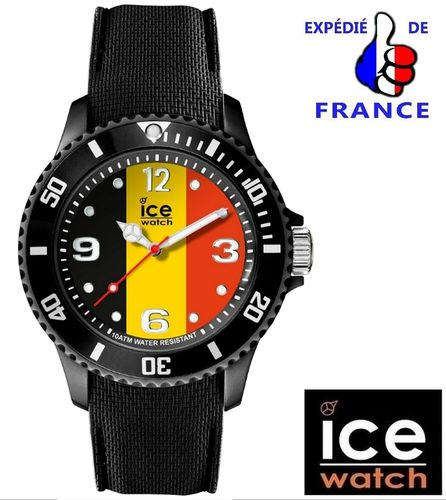 Montre ICE WATCH ICE WORLD Drapeau Belge Belgique
