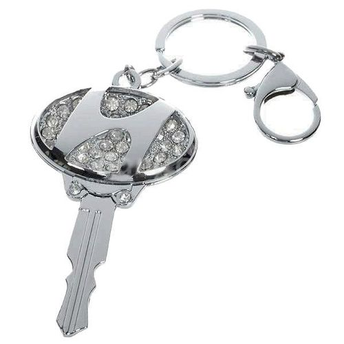 Hyundai 3D Key ring with Rhinestones