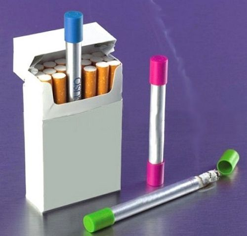 Ingenious Tubular Pocket mini Ashtray