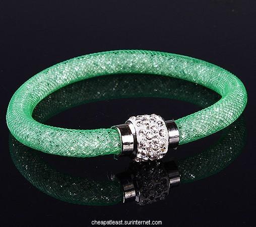 Bracelet cristal stardust style swarovski fermoir strass - Bracelet slake swarovski pas cher ...