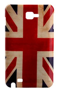 hard case - Union Jack - for GALAXY NOTE