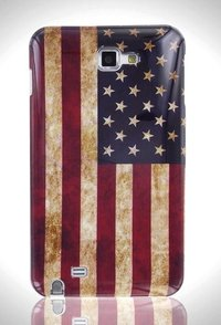 Hard case Dirty Flag - American Flag for Galaxy Note