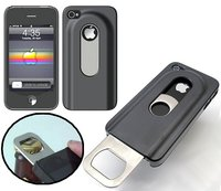 Iphone 4/4s Black Case Bottle Opener