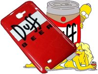 Coque Duff Beer Pour Samsung Galaxy Note I9220 / N7000