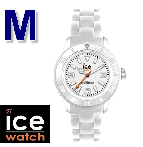 Montre Ice Watch ICE SOLID - Medium - Silicone Blanc - Mixte SD.WE.U.P.12