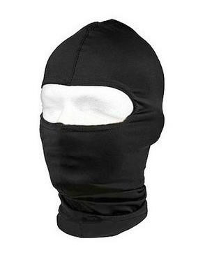 cagoule Moto Motard intervention Swat Noir 1 trou