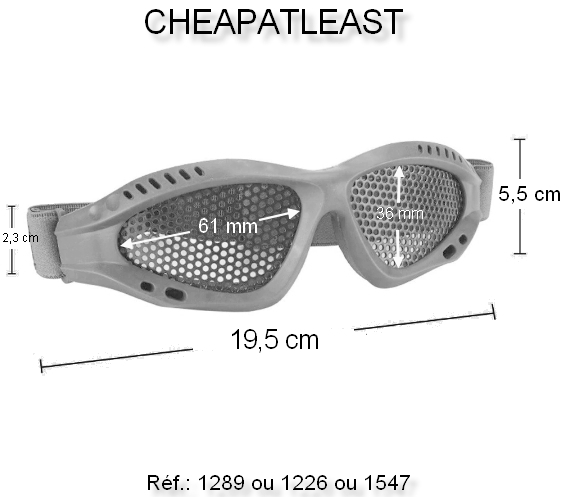 KT Tactique Spec-Ops Lunettes Militaire Lunettes Shooting glasses Airsoft Vert