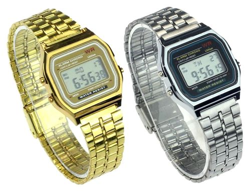 "Montre digitale design vintage seventies 70"" style Casio"
