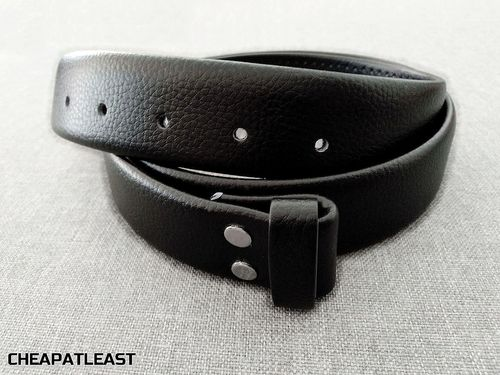 Leather Belt Special For Interchangeable Removable Buckle