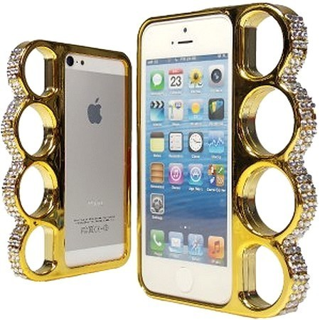 coque iphone 4 4s poing am ricain strass dor pas cher. Black Bedroom Furniture Sets. Home Design Ideas