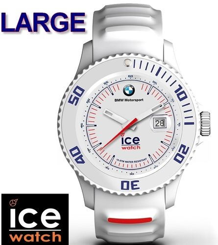 Montre Ice-Watch BMW Motorsport Homme - Blanche - BIG 45mm