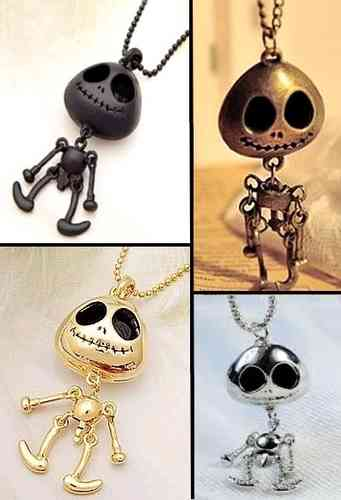 Necklace Skeleton scarecrow The Nightmare Before Christmas