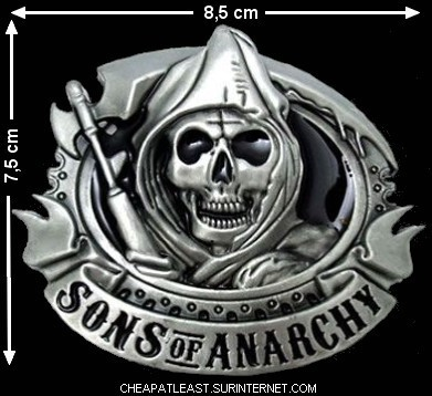 acheter pas cher boucle de ceinture sons of anarchy. Black Bedroom Furniture Sets. Home Design Ideas