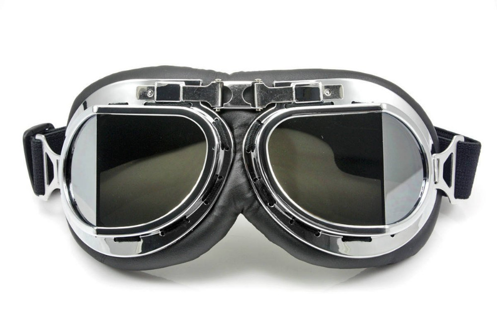 sunglasses 2 round retro vintage motorcyclist cafe racer motoring goggles