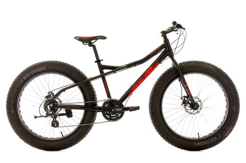 "FATBIKE FAT BIKE ALU 26"" 24 VITESSES"