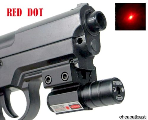 Visée Laser Point Rouge Red Dot pour fusil ou pistolet