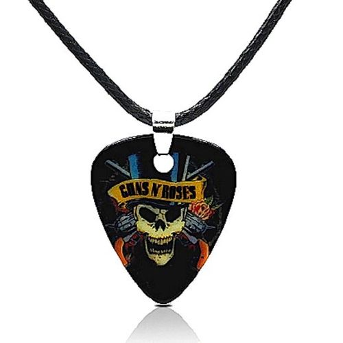 Necklace Guns N' Roses with pick pendant Rockin' Roots