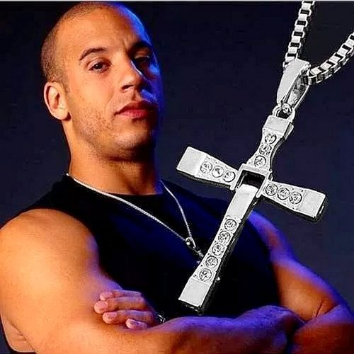 Necklace With Cross Pendant Crucifix (Fast and Furious)