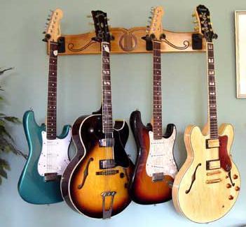 Support Mural Orientable à Patère Pour Guitare Basse Violon - Porte guitare mural