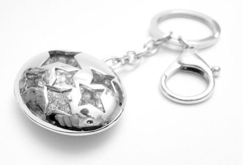 SUBARU 3D Key ring with Rhinestones