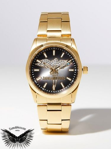 Iconic watch Zadig & Voltaire ANGEL TIMELESS - Golden Steel PVD Gold